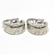 Chopardissimo 18K white gold and diamonds earrings