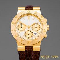 Bulgari Diagono Chronograph Ch35G 18K Gold BOX & PAPERS