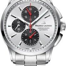 Maurice Lacroix Pontos PT6388-SS002-131-1 Herren Automatikchro...