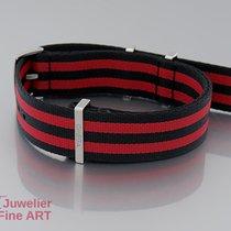 """Omega Stripes/Black & Red""""Dornschließe NYLON-NATO 20..."""
