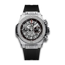 Hublot Big Bang Unico 45mm Automatic Stainless Steel Mens...
