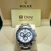 Rolex Cosmograph Daytona Steel White Panda Dial Ceramic  116500LN