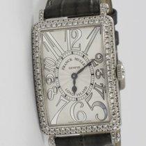 Franck Muller Long Island Weißgold Original Diamanten 952 QZ D