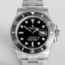 """Rolex Submariner Date """"5 Year Rolex Warranty"""""""