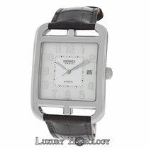Hermès Authentic Mint Men  Cape Cod CD6.710 Stainless Steel Date