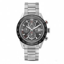 TAG Heuer CARRERA Calibre HEUER 01 Stainless Automatic CAR201W...