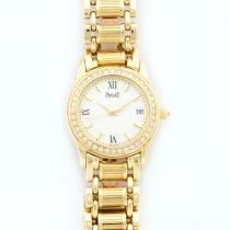 Piaget Polo Yellow Gold Diamond Watch Ref. 22005