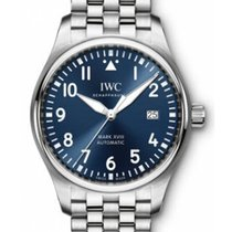 IWC IW3270-14 Pilots Mark XVIII - Classic in Steel - on Steel...