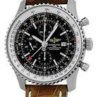 "Breitling ""Navitimer World"" GMT Chronograph Strapwatch."