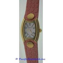 DeLaneau First Lady Yellow Gold Watch