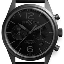 Bell & Ross BR 126 Phantom NEU mit Box + Papieren