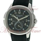 Patek Philippe Aquanaut Travel Time, Black Dial - Stainless...