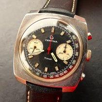 Certina TIMER CHRONOLYMPIC VALJOUX 23 VINTAGE ARMBANDUHR 1968