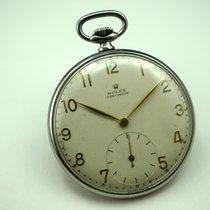 Rolex Pocket watch 4653 steel rare model dates 1948