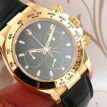 Rolex Daytona Ref 116518 Cosmograph Chronograph 18K Yellow...