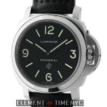 Panerai Luminor Collection Luminor Base Logo Steel 44mm Black...