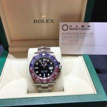 Rolex 116719BLRO GMT Mater II 40mm Red / Blue