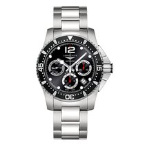 Longines HydroConquest Automatic Chronograph 41mm Mens Watch