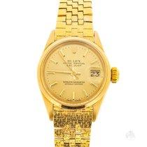 Rolex Vintage Datejust Lady Gold