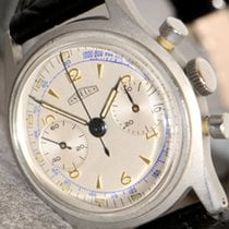 Angelus Chronograph Cal 250 special Execution,  screw back...