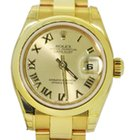 Rolex UNWORN LADY DATEJUST 179168 18CT YELLOW GOLD