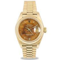 Ρολεξ (Rolex) Datejust President Ladies 18k, Wood Dial, Ref:...