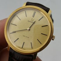 Omega De Ville 18K Gold (case+dial) - serviced