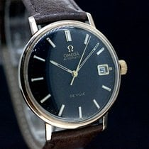 Omega Seamaster DeVille cal.565 Black Dial Pink Gold plated