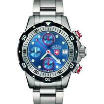 Swiss Military 20000 Feet Watch World Record Valjoux 7750 Cosc...