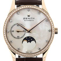Zenith Elite 33 Moon Phase Gemstone