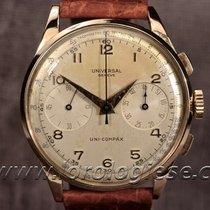 Universal Genève Original Large 37,5mm 18kt. Pink Gold...