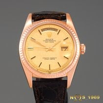 Rolex Day-Date President 18K Rose Gold Linen Dial BOX