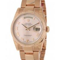 Ρολεξ (Rolex) Day Date 118235 In Rose Gold, 36 Mm