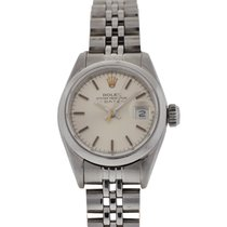 Rolex 69160 ladies vintage stainless steel date watch with box
