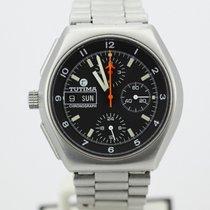 Tutima Left Hand Military Chronograph 760-22