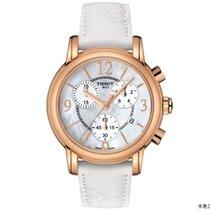 Tissot Men's  White Leather Swiss Quartz Watch