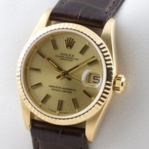 Rolex DATEJUST GOLD 750 AUTOMATIK 31MM MEDIUM MID SIZE