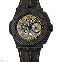 Hublot Big Bang 45mm Ferrari Yellow Ceramic Men`s Watch