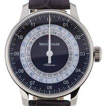 Meistersinger Adhaesio 43 GMT Blue Dial