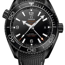 "Omega Seamaster Planet Ocean ""Deep Black"" 600M Co-Axial GMT"