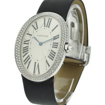 Cartier WB520009 Baignoire Large in White Gold with Diamond...