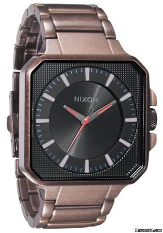 Nixon The Platform Antique Copper/Black Reloj para hombre
