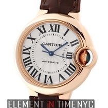 Cartier Ballon Bleu Collection Ballon Bleu 18k Rose Gold 33mm...