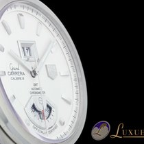 TAG Heuer Grand Carrera GMT Calibre 8 RS Silber