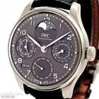 IWC Portugieser Perpetual Calendar Ref-IW503301 18k White Gold...