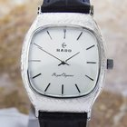 Rado Royal Elegance  Solid 925 Silver Case Carved Automatic...