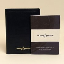 Ulysse Nardin Service Booklet + Leather Pouch