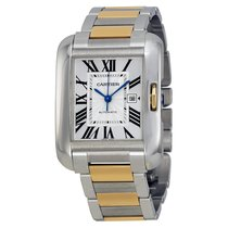 Cartier- Tank Anglaise Großes Modell, Ref. W5310047