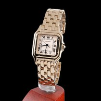 Cartier phantere yellow gold quartz men size