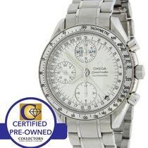 Omega Speedmaster Triple Date Silver 3523.30 40mm Watch